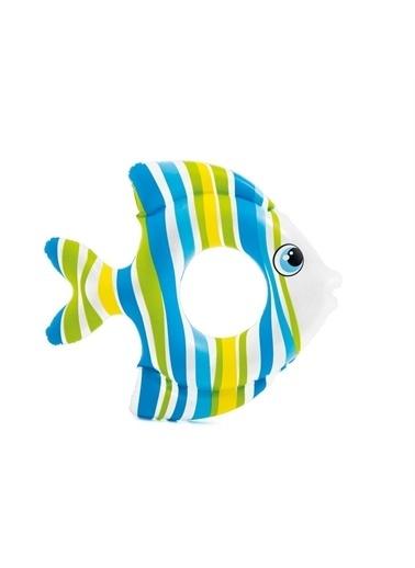 Vardem 59223 Tropikal Balıklı Simit Renkli